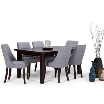 Gray – Dining Room Sets – Kitchen & Dining Room Furniture – The Home Regarding Craftsman 7 Piece Rectangle Extension Dining Sets With Uph Side Chairs (Image 11 of 25)