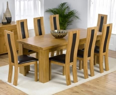 Great 8 Seater Dining Table | Food I Need To Try | Pinterest Regarding 8 Seater Oak Dining Tables (View 6 of 25)