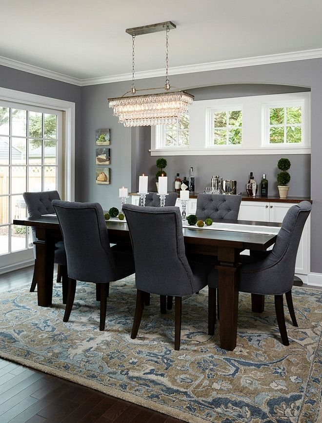 Great Dark Dining Room Table – Esescatrina Pertaining To Dark Dining Room Tables (Image 22 of 25)