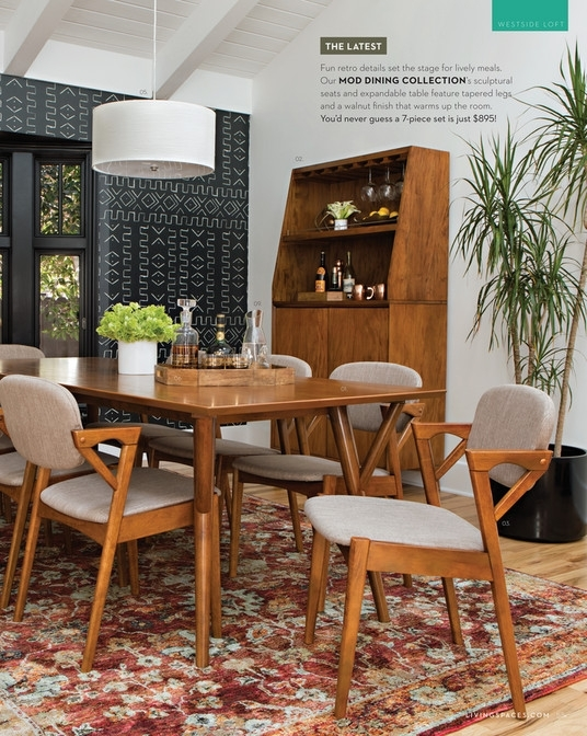 Great Living Spaces Fall 2017 Mod Extension Dining Table With Regard Within Pelennor Extension Dining Tables (Image 13 of 25)
