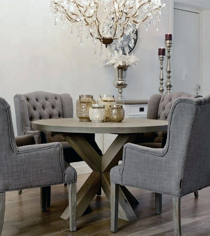 Grey Dining Room Chair Medium Size Of Dining Dining Room Table Intended For Dining Tables Grey Chairs (Image 10 of 25)