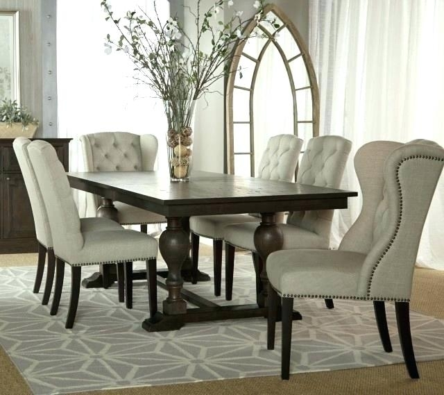 Grey Fabric Dining Chairs Dining Room Chairs Fabric Small Images Of For Fabric Dining Room Chairs (View 25 of 25)