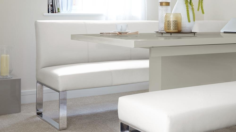Grey Gloss Extending Pedestal Dining Table | Dining Table Uk Intended For Small Extending Dining Tables (Image 11 of 25)