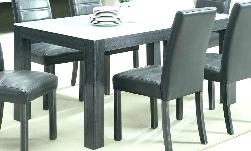 Grey Kitchen Table – Amaani with Dining Tables Grey Chairs