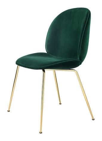 Gubi Beetle Velvet Dining Chair – 2Modern Throughout Velvet Dining Chairs (Image 12 of 25)