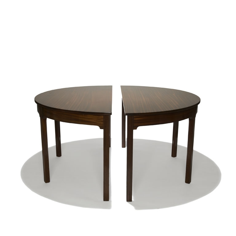 Half Moon Bar Table Round Dining Unity Regarding Inspirations 4 with regard to Round Half Moon Dining Tables