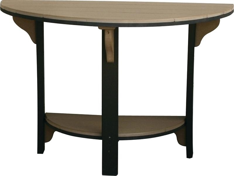 Half Moon Dining Tables Half Moon Table For Unique Half Moon Table with regard to Round Half Moon Dining Tables