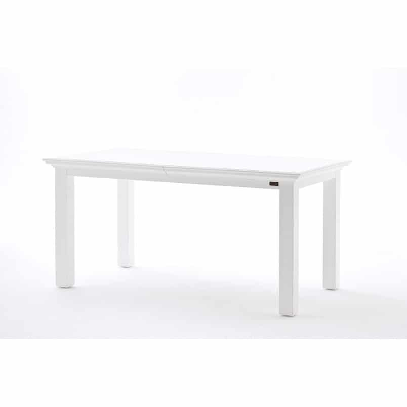 Halifax White Extending Dining Table • Akd Furniture With White Extending Dining Tables (View 17 of 25)