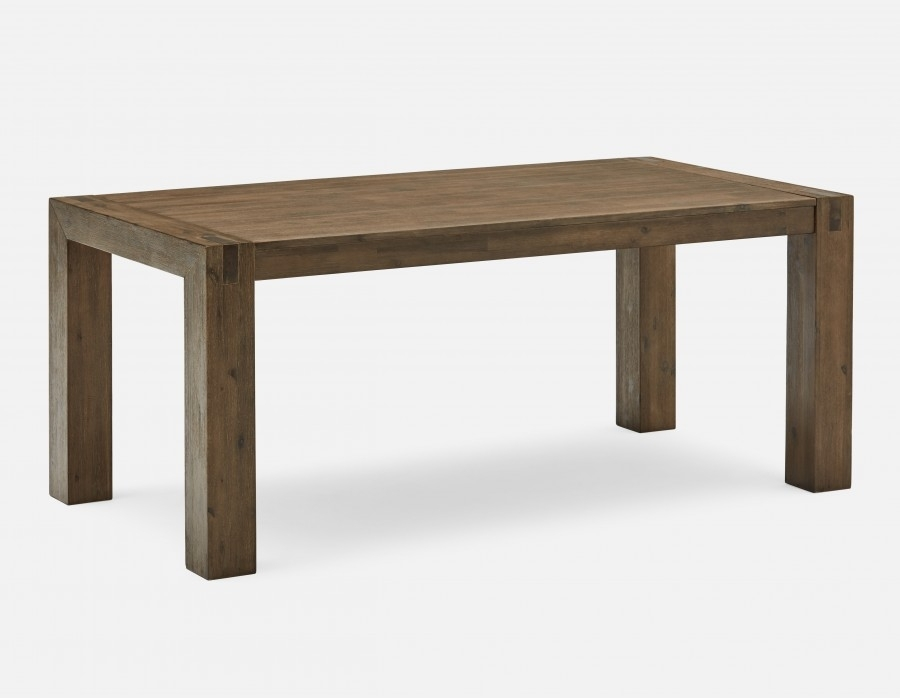 Hamburg Acacia Wood Dining Table 180Cm (71'') | Structube With Regard To 180Cm Dining Tables (View 8 of 25)