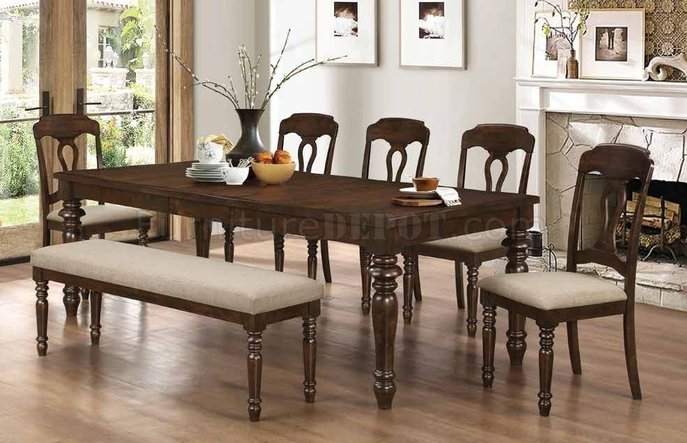 Hamilton Dining Table 106351Coaster W/options In Hamilton Dining Tables (Image 11 of 25)