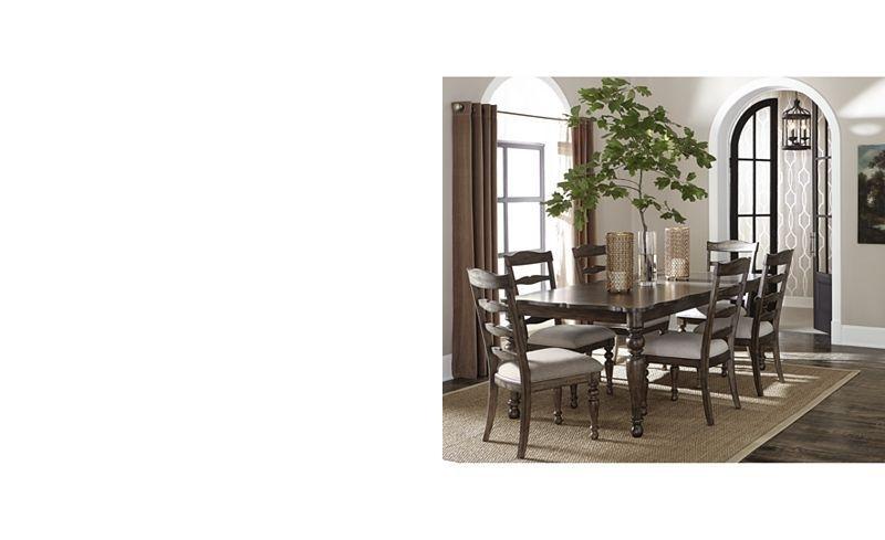 Hamilton Expandable Dining Furniture, 7-Pc. Set (Dining Table & 6 inside Delfina 7 Piece Dining Sets