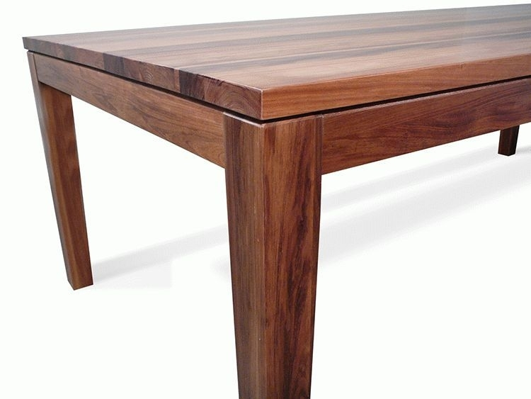 Hamilton Tasmanian Blackwood 2400 Dining Table | Living Elements With Hamilton Dining Tables (Image 17 of 25)