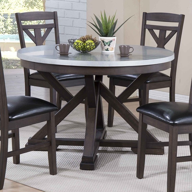 Hamilton Zinc Top Dining Table – Dining Room And Kitchen Furniture Regarding Hamilton Dining Tables (Image 18 of 25)