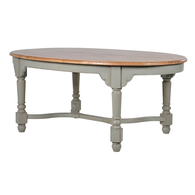 Hampshire Oval Dining Table - Lambro Home with Oval Dining Tables For Sale