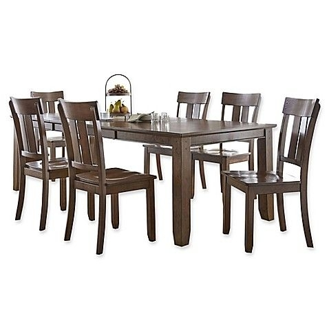 Hampton Counter-Height Dining Table And 6 Upholstered Stoo pertaining to Gavin 6 Piece Dining Sets With Clint Side Chairs
