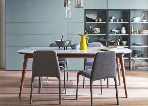Hanami Marble Dining Table – Novamobili Furniture, London Pertaining To Dining Tables London (View 16 of 25)