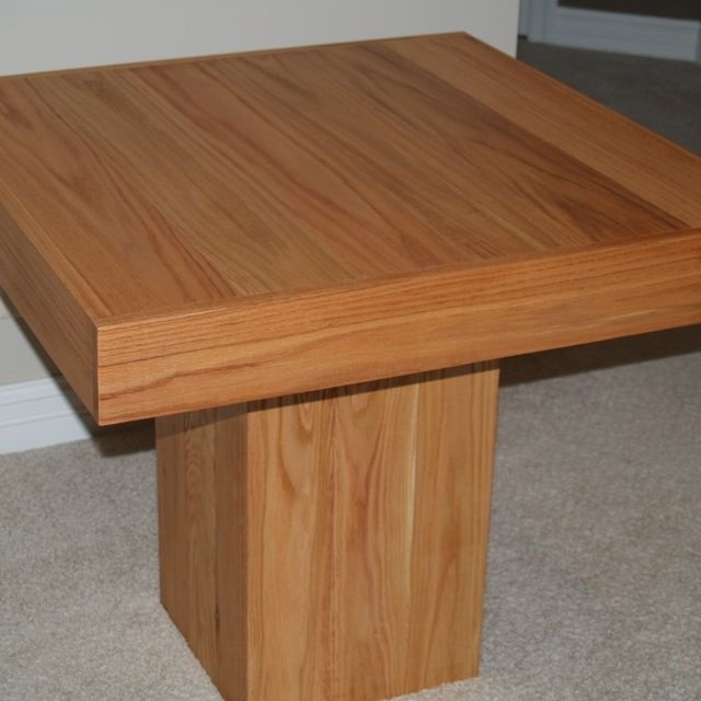 Hand Made Cube Dining Tablecannon Custom Woodworking Llc Within Cube Dining Tables (Image 16 of 25)