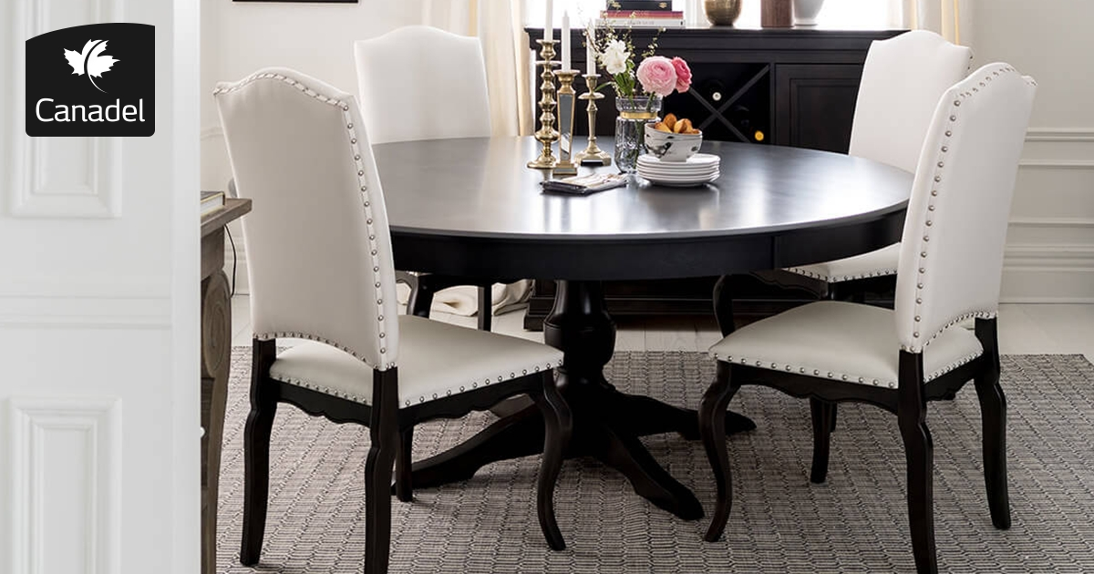 Handcrafted In North America – Kitchen And Dining Room – Canadel Within Dining Room Tables (View 7 of 25)
