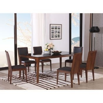 Handel 7 Piece Dining Set | Dream House | Pinterest | Dining Set With Regard To Laurent 7 Piece Rectangle Dining Sets With Wood And Host Chairs (Image 12 of 25)