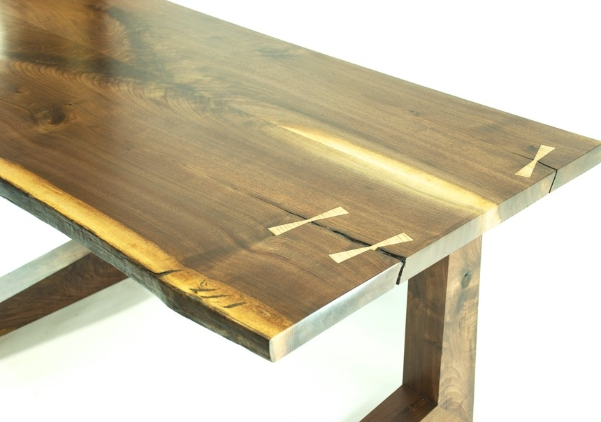 Handmade Custom Wood Rocking Chairs Dining Chairs Tables Bar Stools With Artisanal Dining Tables (View 21 of 25)