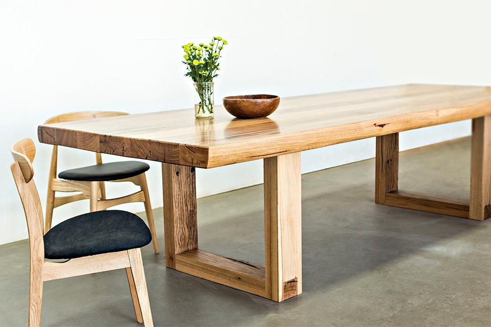 Handmade Dining Tables Attractive Wood Table At Melbourne In In Grady Round Dining Tables (Image 11 of 25)