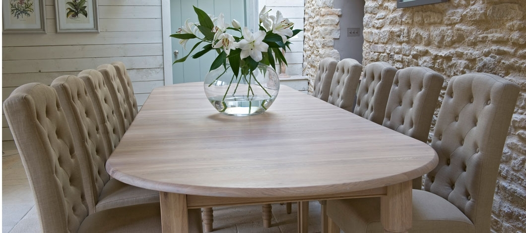 Handmade Dining Tables For Sale Manchester | Shackletons Lifestyle inside Oval Dining Tables For Sale