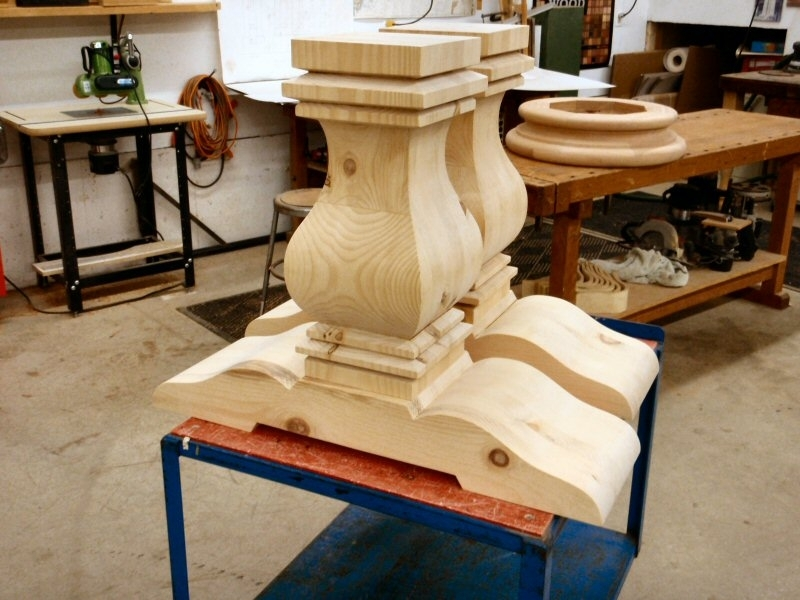 Hanson Woodturning Intended For Dining Tables With Large Legs (Image 13 of 25)
