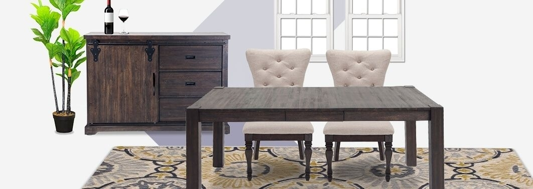 Harlem Furniture Dining Room Sets – Amazinggarden (Image 5 of 25)