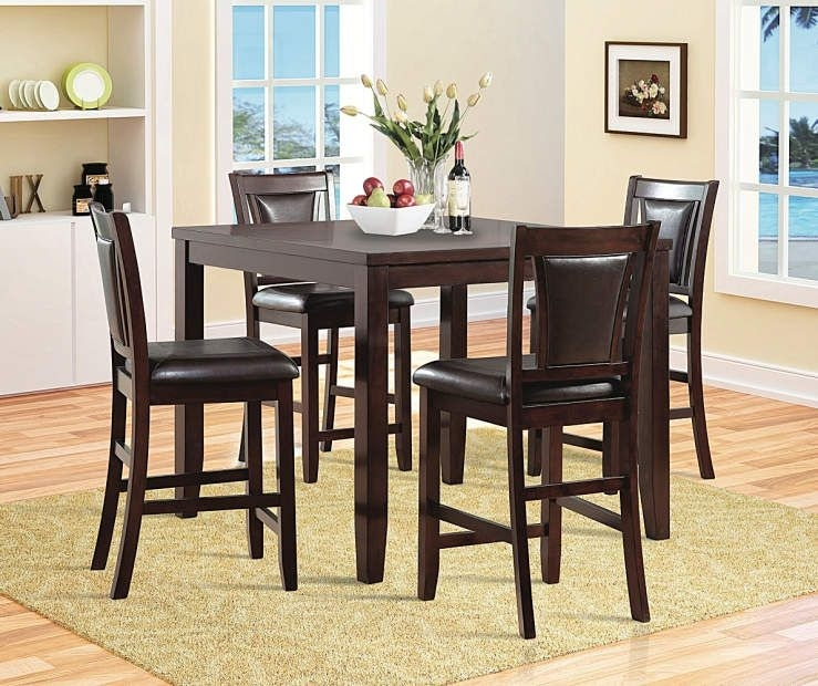 Harlow 5-Piece Pub Set At Big Lots. | Kitchen | Pinterest | Pub Set throughout Palazzo 6 Piece Rectangle Dining Sets With Joss Side Chairs