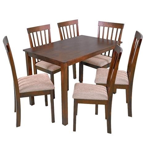 Harper 7 Piece Dining Set For Harper 5 Piece Counter Sets (Image 9 of 25)