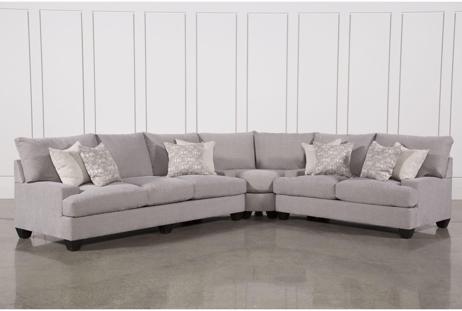 Harper Down 3 Piece Sectional | Sofas And Sectionals | Pinterest | 3 With Regard To Sierra Down 3 Piece Sectionals With Laf Chaise (Image 13 of 25)
