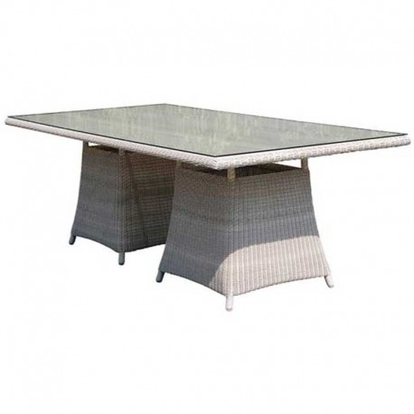 Havana Dining Table  Designer  Stylish  White  Glass  Outdoor Intended For Havana Dining Tables (Image 13 of 25)