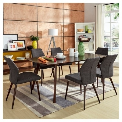 Have To Have It. Harmonia Living Urbana Patio Dining Set – Throughout Chapleau Ii 7 Piece Extension Dining Tables With Side Chairs (Photo 10 of 25)