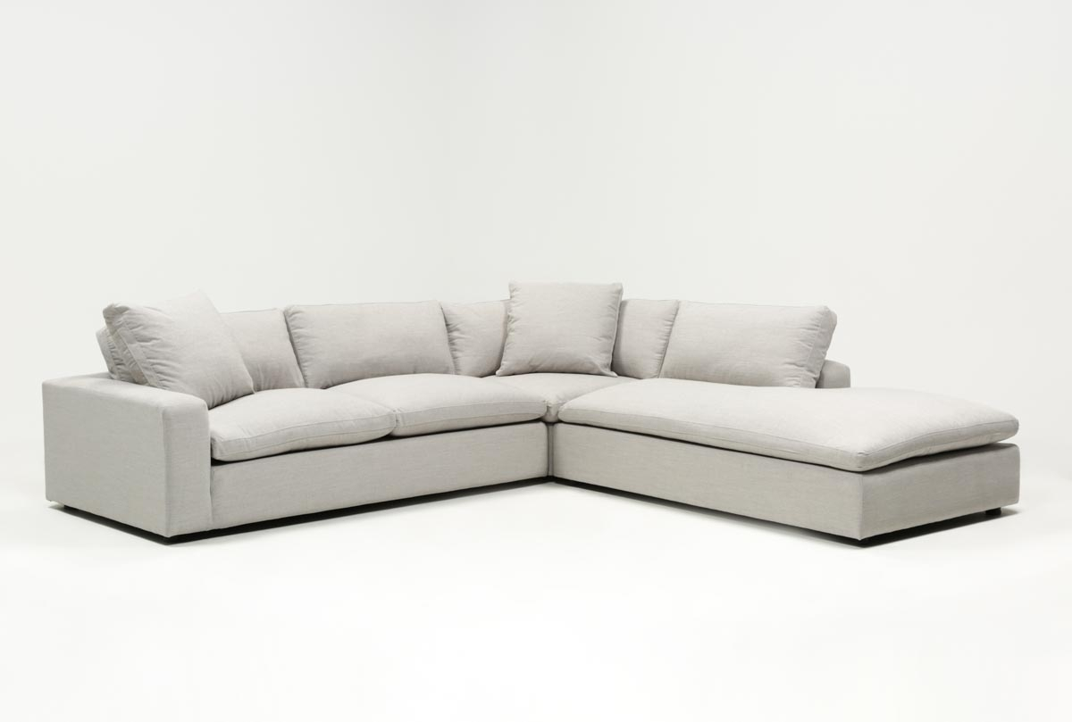 Featured Image of Haven Blue Steel 3 Piece Sectionals