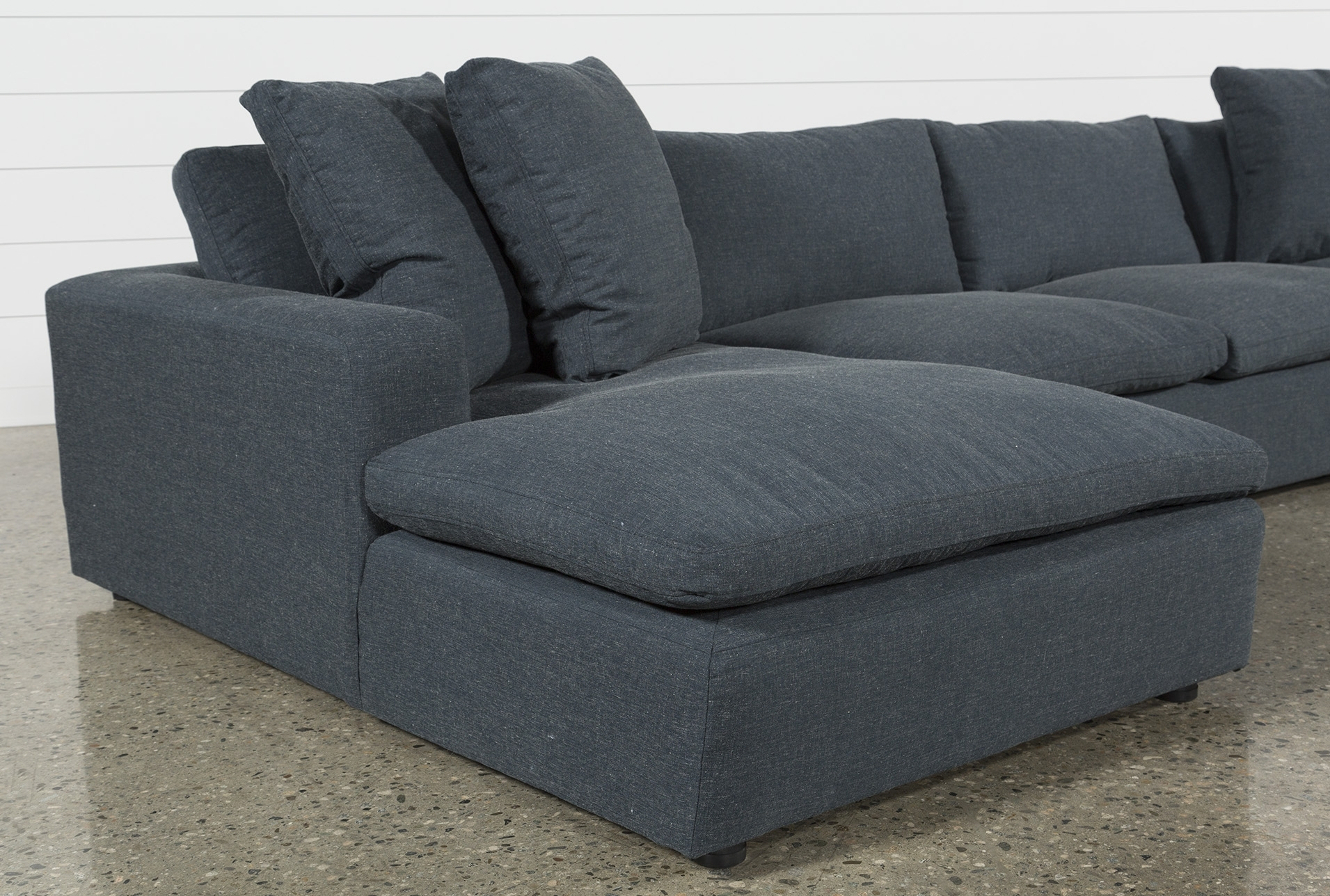 Haven Blue Steel 3 Piece Sectional | Products | Pinterest | Steel Inside Haven Blue Steel 3 Piece Sectionals (View 2 of 25)
