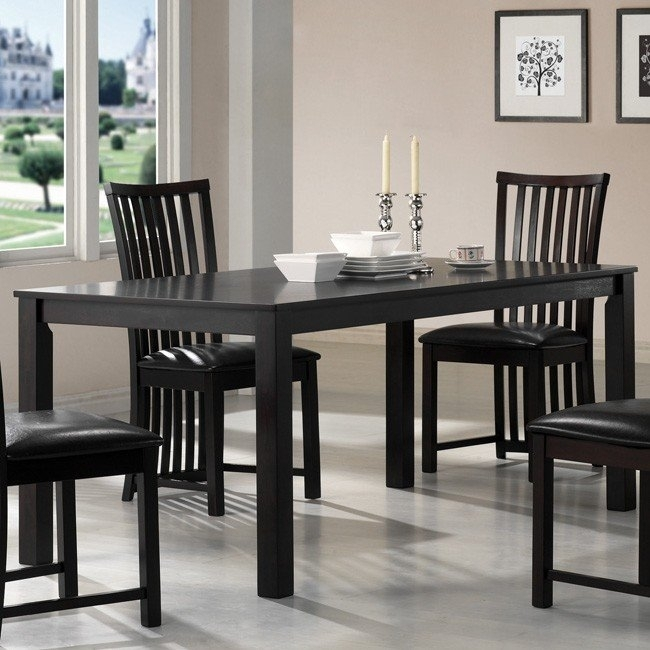 Hayden Dining Room Set Coaster Furniture | Furniture Cart With Hayden Dining Tables (Image 7 of 25)