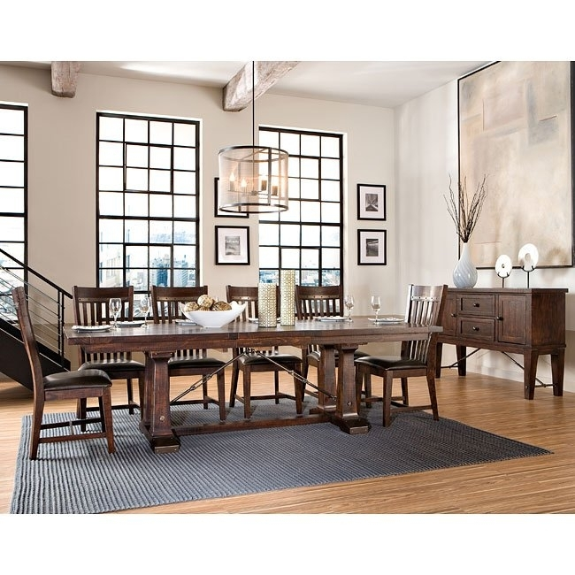 Hayden Dining Room Set Intercon Furniture, 5 Reviews | Furniture Cart For Hayden Dining Tables (View 11 of 25)