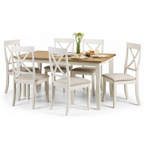 Hayden Dining Table & 6 Dining Chairs| Dining Sets | Hanleys's Furniture For Hayden Dining Tables (Image 11 of 25)