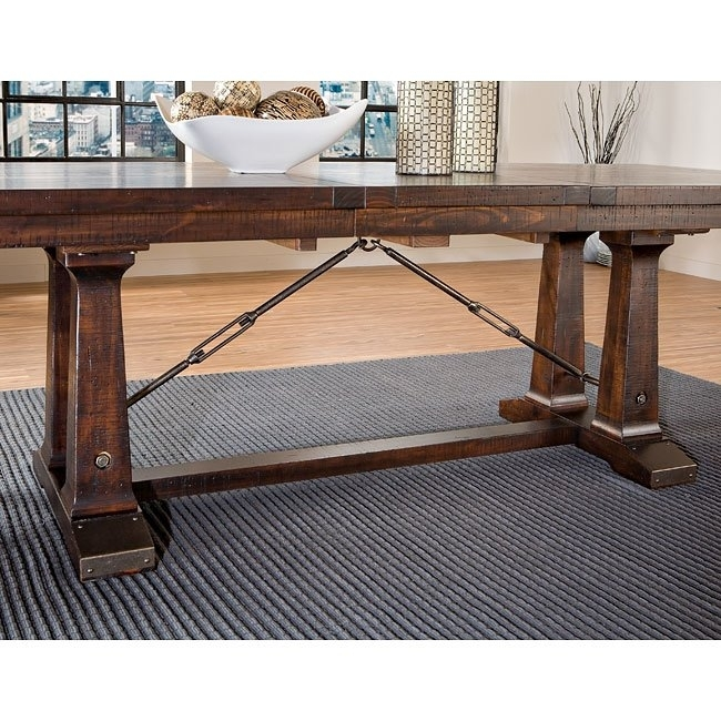 Hayden Trestle Dining Table Intercon Furniture, 4 Reviews In Hayden Dining Tables (View 18 of 25)
