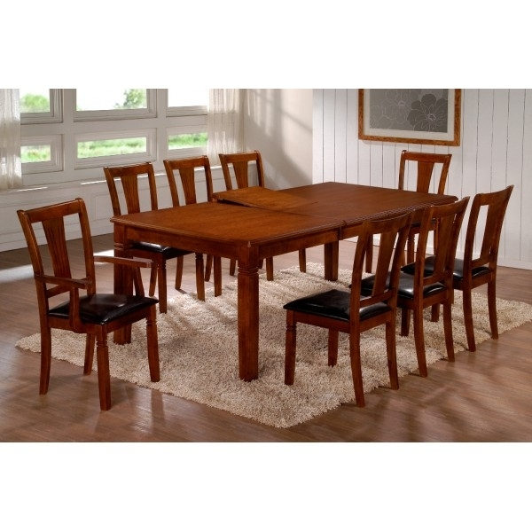 Heartlands Emerson Extending Wooden Dining Table With Free National Throughout Dining Tables And 8 Chairs For Sale (View 4 of 25)