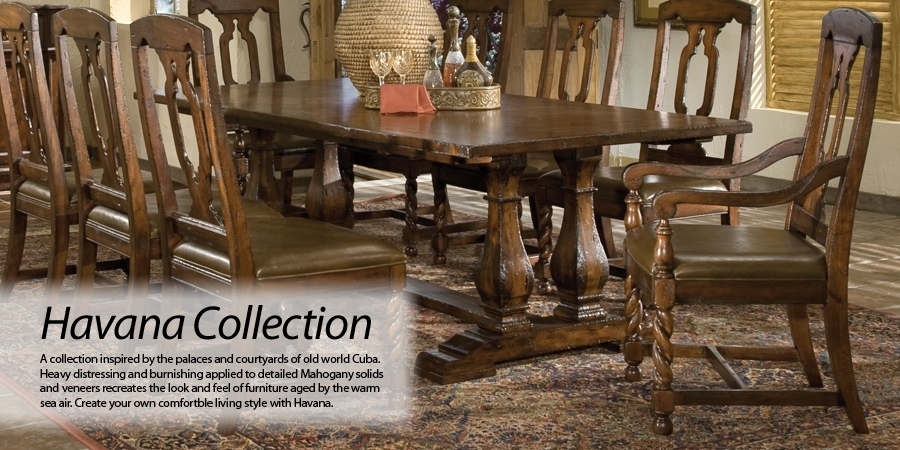 Hekman Furniture – Havana – Category With Havana Dining Tables (Image 16 of 25)