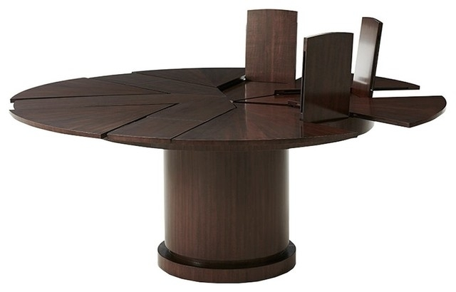 Helm Extending Dining Table – Dining Tables  Maison Xxiv Pertaining To Helms Rectangle Dining Tables (Image 12 of 25)