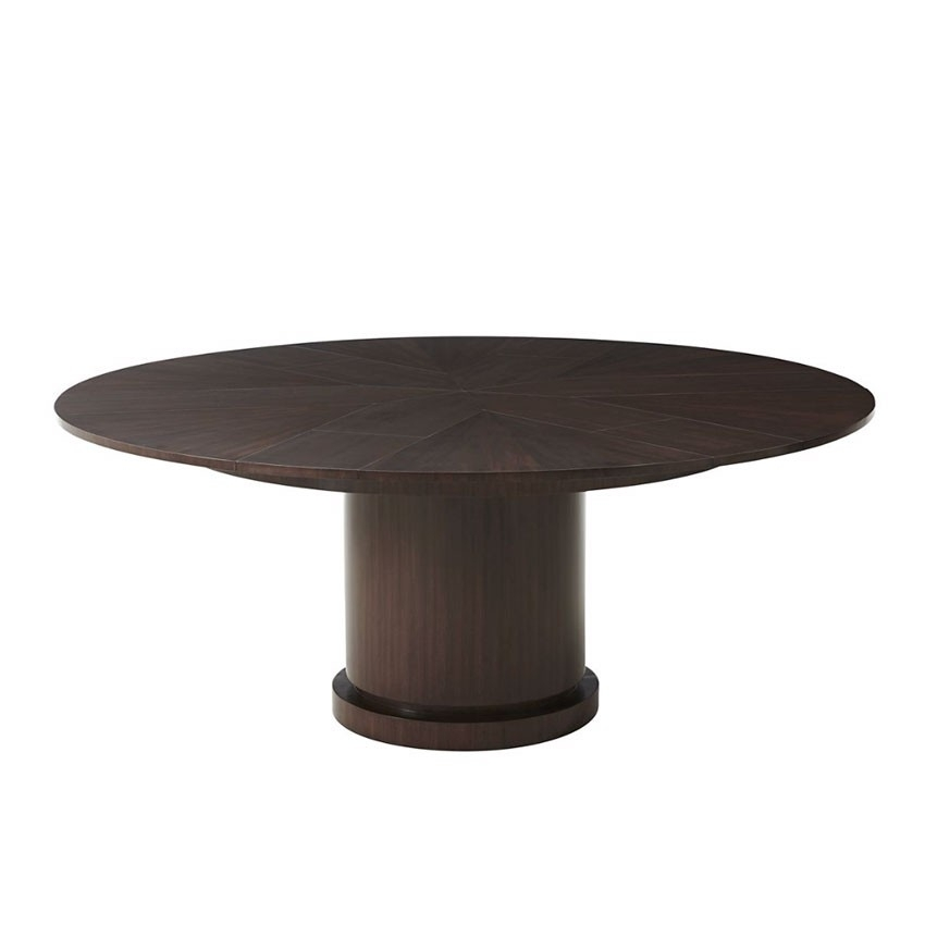 Helm Jupe Expansion Dining Table | Theodore Alexander 5405 311 Inside Helms Rectangle Dining Tables (Image 13 of 25)