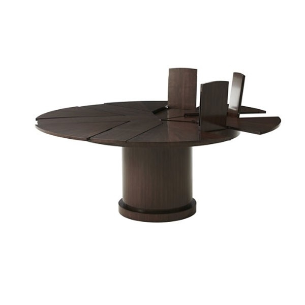 Helm Jupe Expansion Dining Table | Theodore Alexander 5405 311 With Helms Rectangle Dining Tables (Image 14 of 25)