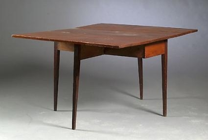 Hepplewhite Drop Leaf Gate Leg Dining Table Inside Cheap Drop Leaf Dining Tables (View 17 of 25)