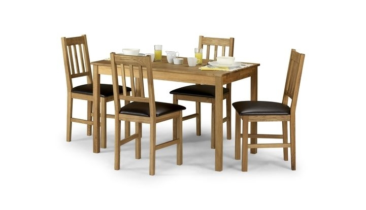 Herrington Rectangular Dining Table & 4 Chairs – Scs With Regard To Scs Dining Furniture (View 7 of 25)