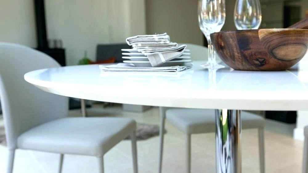 Hi Gloss Dining Table Sets 6 High Gloss Dining Table Set Cream High With Round High Gloss Dining Tables (Image 14 of 25)
