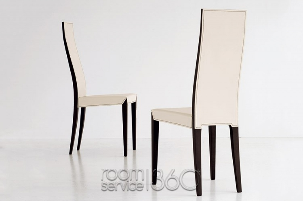 High Back Dining Chairs Throughout High Back Leather Dining Chairs (Image 12 of 25)