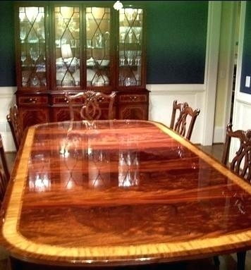 High End Dining Room Set – Storiesdesk Intended For Mahogany Dining Tables Sets (Image 7 of 25)
