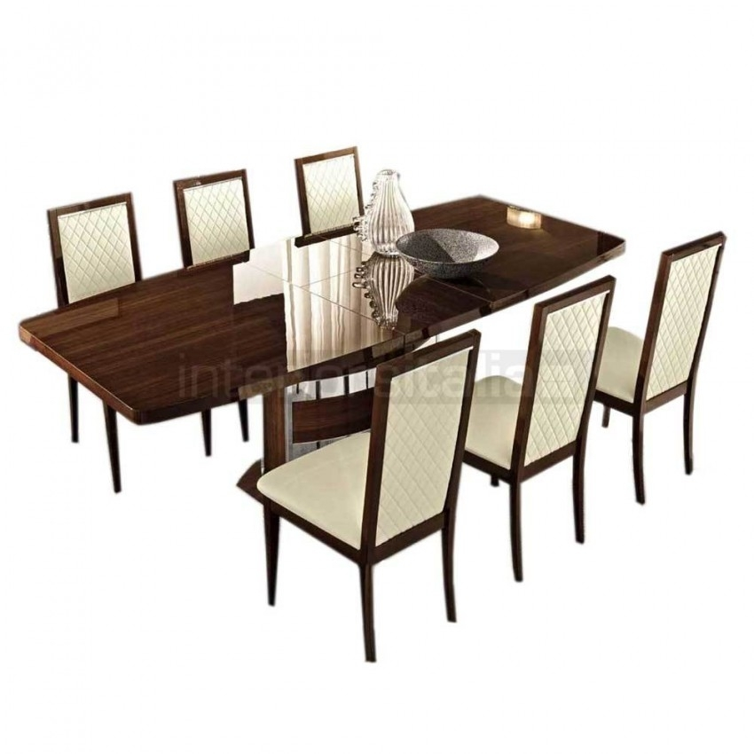 High Gloss Dining Set | Roma | Clearance Sale With Roma Dining Tables (View 20 of 25)